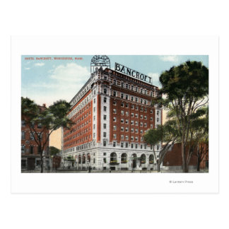 Exterior View of the Hotel Bancroft Postcard