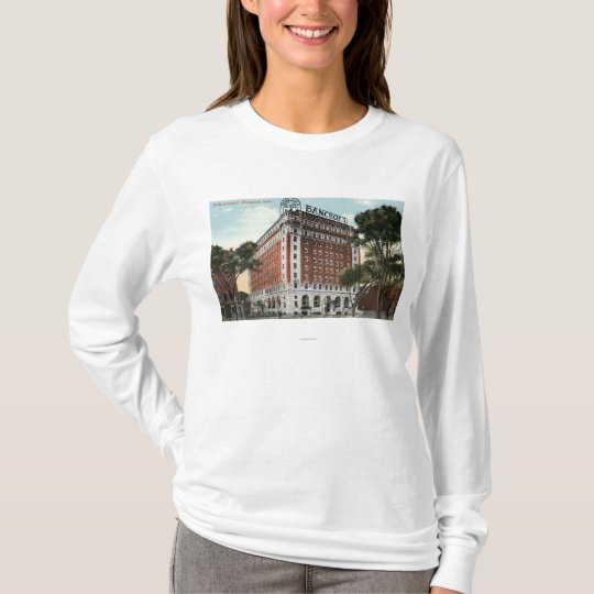 Exterior View of the Hotel Bancroft T-Shirt
