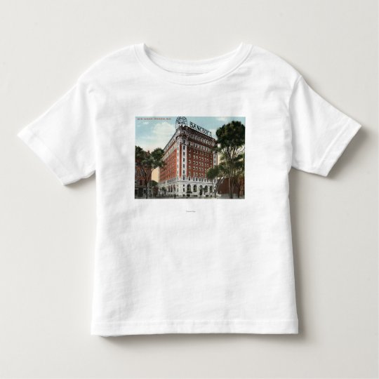 Exterior View of the Hotel Bancroft Toddler T-shirt