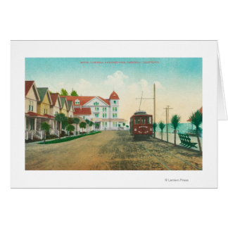 Exterior View of the Hotel Capitola and Cottages Card