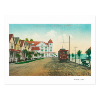 Exterior View of the Hotel Capitola and Cottages Post Card