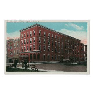 Exterior View of the Hotel Cumberland Posters