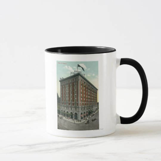 Exterior View of the Hotel Rochester Mug