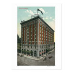Exterior View of the Hotel Rochester Post Card