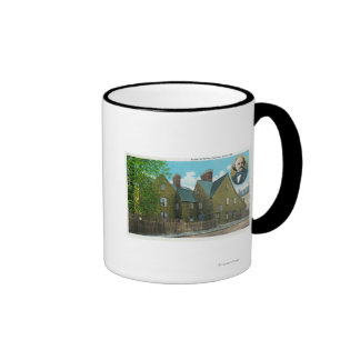 Exterior View of the House of Seven Gables 2 Mug