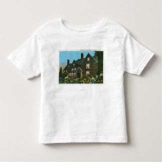 Exterior View of the House of Seven Gables Toddler T-shirt