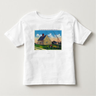 Exterior View of the Jethro Coffin House T-shirts
