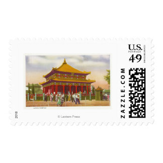 Exterior View of the Lama Temple Postage