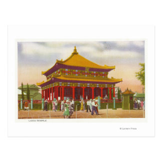 Exterior View of the Lama Temple Postcard