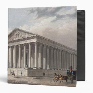 Exterior view of the Madeleine, Paris 3 Ring Binder