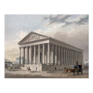 Exterior view of the Madeleine, Paris Postcard