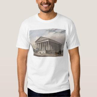 Exterior view of the Madeleine, Paris T Shirt