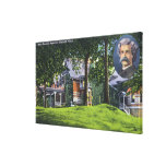 Exterior View of the Mark Twain Memorial # 2 Canvas Print