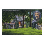 Exterior View of the Mark Twain Memorial # 2 Poster