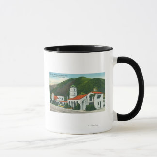 Exterior View of the Motel Inn Mug