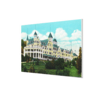 Exterior View of the Mount Pleasant Hotel Gallery Wrap Canvas