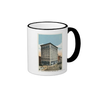 Exterior View of the New Park Building Mugs