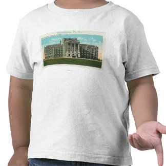 Exterior View of the New Physician's Hospital T-shirts