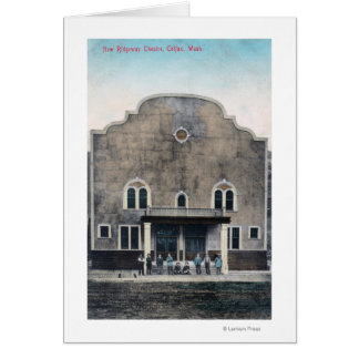 Exterior View of the New Ridgeway Theatre Card