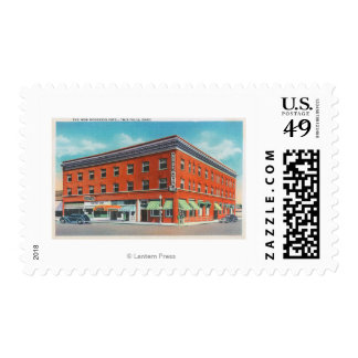 Exterior View of the New Rogerson Hotel Postage