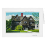 Exterior View of the Old Witch House Card