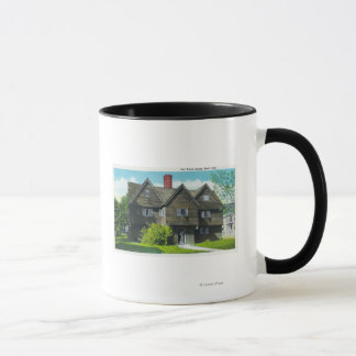Exterior View of the Old Witch House Mug