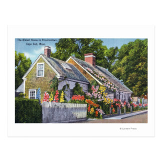 Exterior View of the Oldest House in Town Post Cards