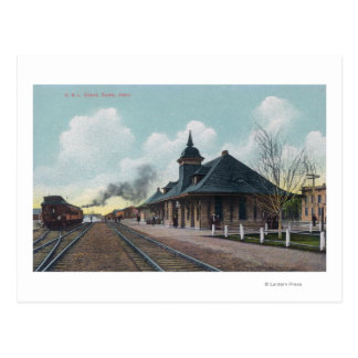 Exterior View of the OSL Depot Boise, ID Postcard