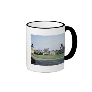 Exterior view of the palace, built c.1677 ringer coffee mug