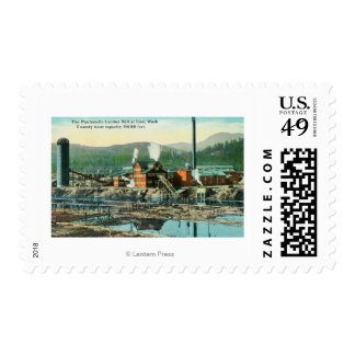 Exterior View of the Panhandle Lumber Mill Stamps