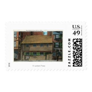 Exterior View of the Paul Revere House # 3 Postage Stamp