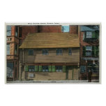 Exterior View of the Paul Revere House # 3 Poster