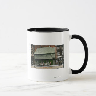 Exterior View of the Paul Revere House # 4 Mug