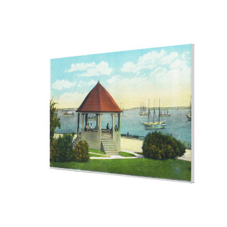 Exterior View of the Pearl of Orr's Island Gallery Wrapped Canvas