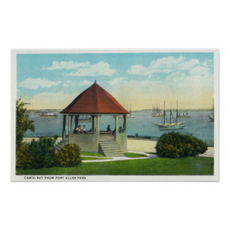 Exterior View of the Pearl of Orr's Island Posters