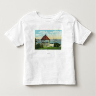 Exterior View of the Pearl of Orr's Island Tshirts