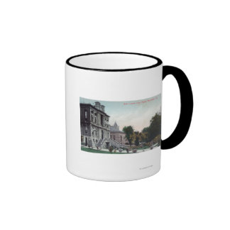 Exterior View of the Polo County Court House Mug