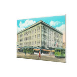 Exterior View of the Porter Building Canvas Print