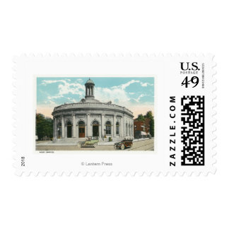 Exterior View of the Post Office 2 Postage