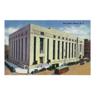 Exterior View of the Post Office # 2 Poster