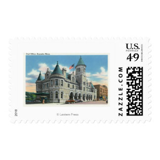 Exterior View of the Post Office 4 Postage