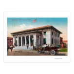 Exterior View of the Post OfficeSanta Rosa, CA Postcard