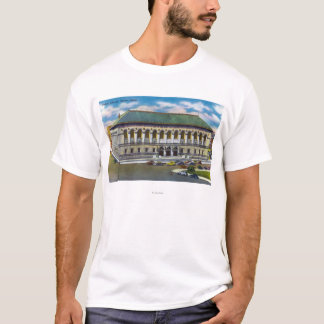 Exterior View of the Public Library T-Shirt