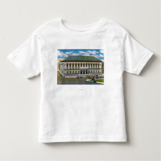 Exterior View of the Public Library Toddler T-shirt
