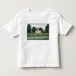 Exterior View of the Public School Toddler T-shirt
