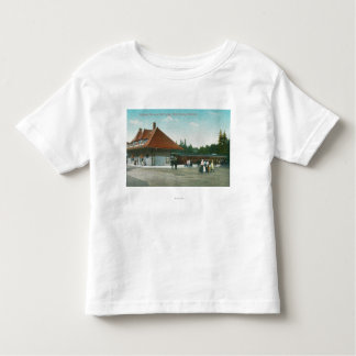 Exterior View of the Railway Station Toddler T-shirt