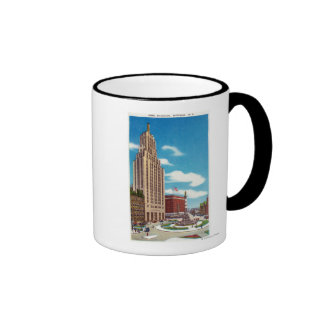Exterior View of the Rand Building Mugs