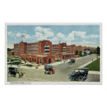 Exterior View of the Remington Arms, UMC Posters