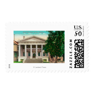Exterior View of the Scottish Rite Temple Postage