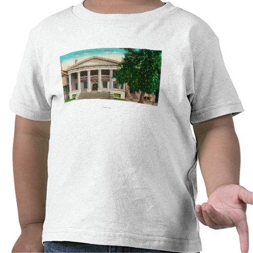 Exterior View of the Scottish Rite Temple Shirts